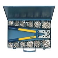 Crimping tool kit and lugs